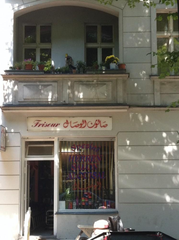 Oldschool Neukölln hairdresser